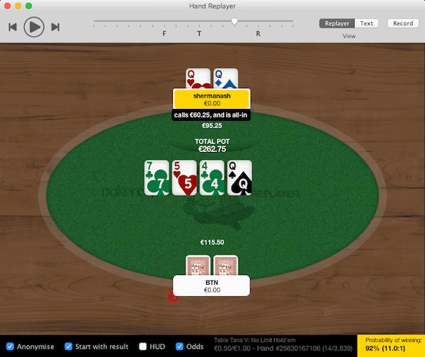 tracker poker gratuit pour mac